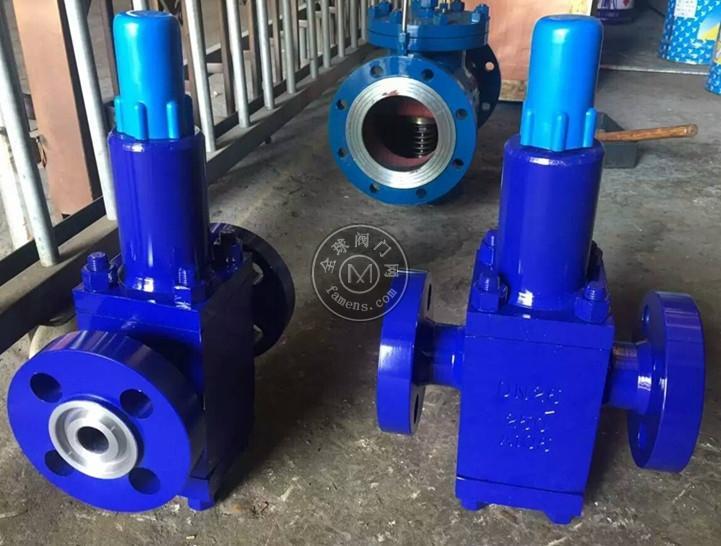 智科Y42F-160C高压水用减压阀 Y42X-100C高压锻钢石油减压阀