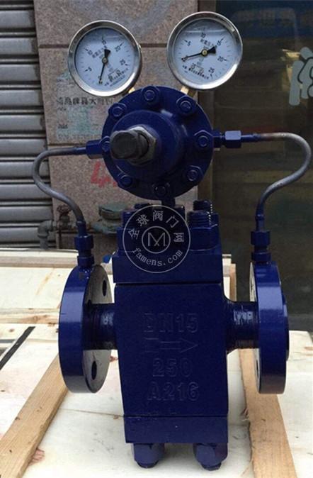 智科 YK43F-250C高压空气减压阀 YK43X-160C高压氧气减压阀 高压锻钢气体减压阀