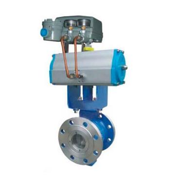 ZSHV型气动V型调节切断球阀 高级控制阀