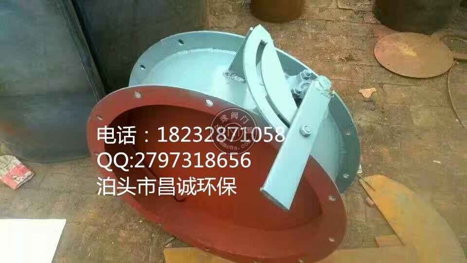 碳鋼材質DN400/DN500/DN600手動通風蝶閥