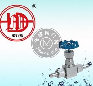 J21W/M20*1.5/压力表针型阀3/8不锈钢螺纹截止阀