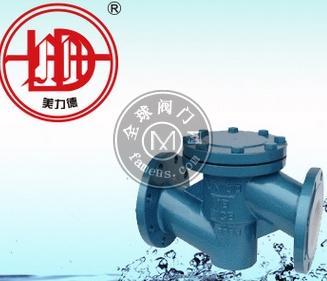 H41F46升降式衬氟止回阀