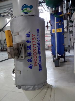 上海南泉球閥可拆卸保溫套