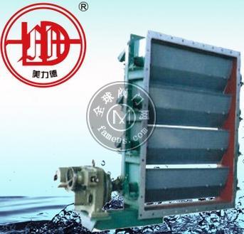 MLD百叶方形调节阀电动风量调节阀
