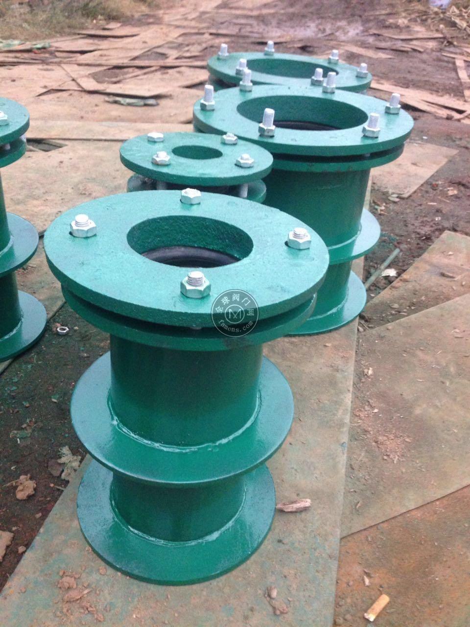 行業品牌佰耐柔性防水套管 剛性防水套管 鋼制人防密閉套管