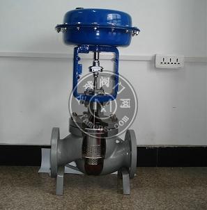 智科 蒸汽高壓調節閥  隔膜調節閥 氣動薄膜多級高壓調節閥