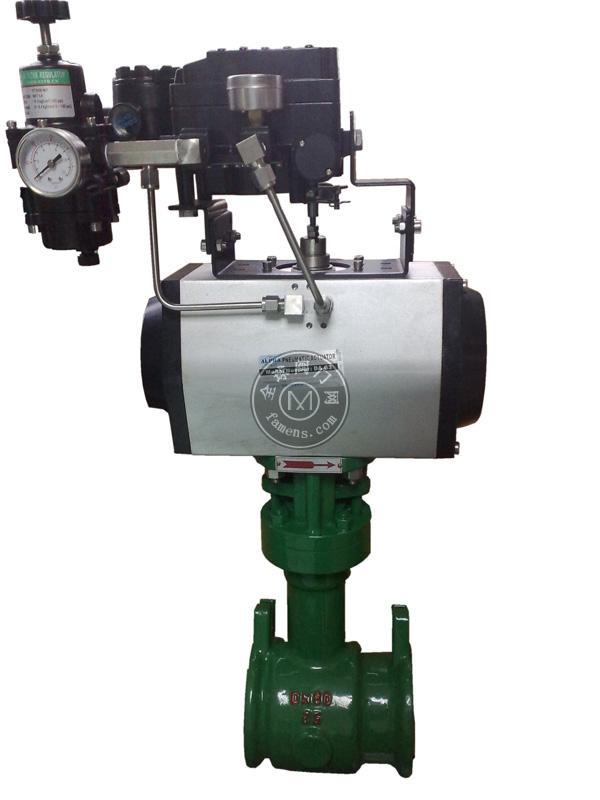气动偏芯旋转阀 凸轮挠曲调节阀 调节阀 汇金专业生产