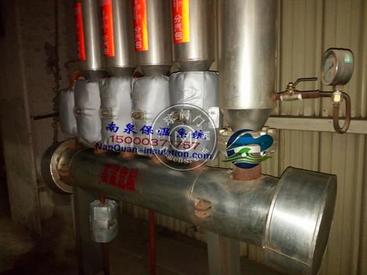 上海南泉Nansen专业供应球阀防烫保温衣