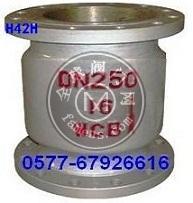 H42H-25-DN250,H42H立式止回阀