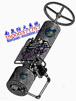阀门执行器可拆式防烫防火罩