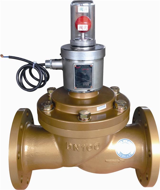 电磁式燃气紧急切断阀(常开型)
