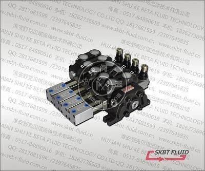 DCV60-4联手动气控多路阀