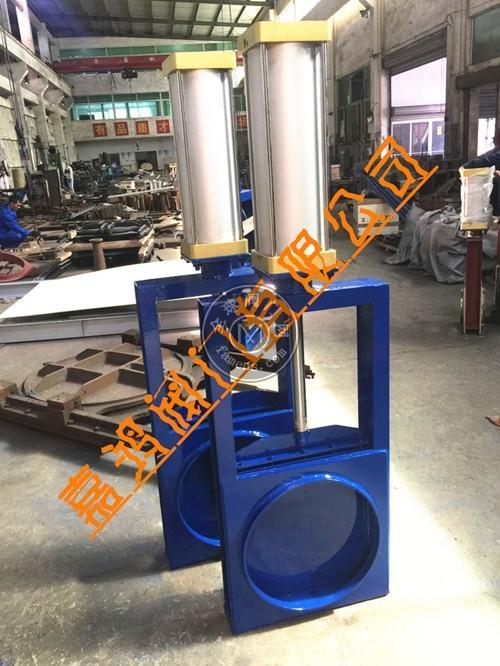 气动对焊插板阀
