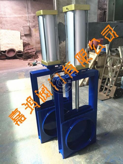 气动对焊连接插板阀
