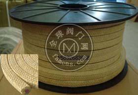 受損軸/偏轉軸水泵密封用芳綸硅膠芯盤根彈性材質