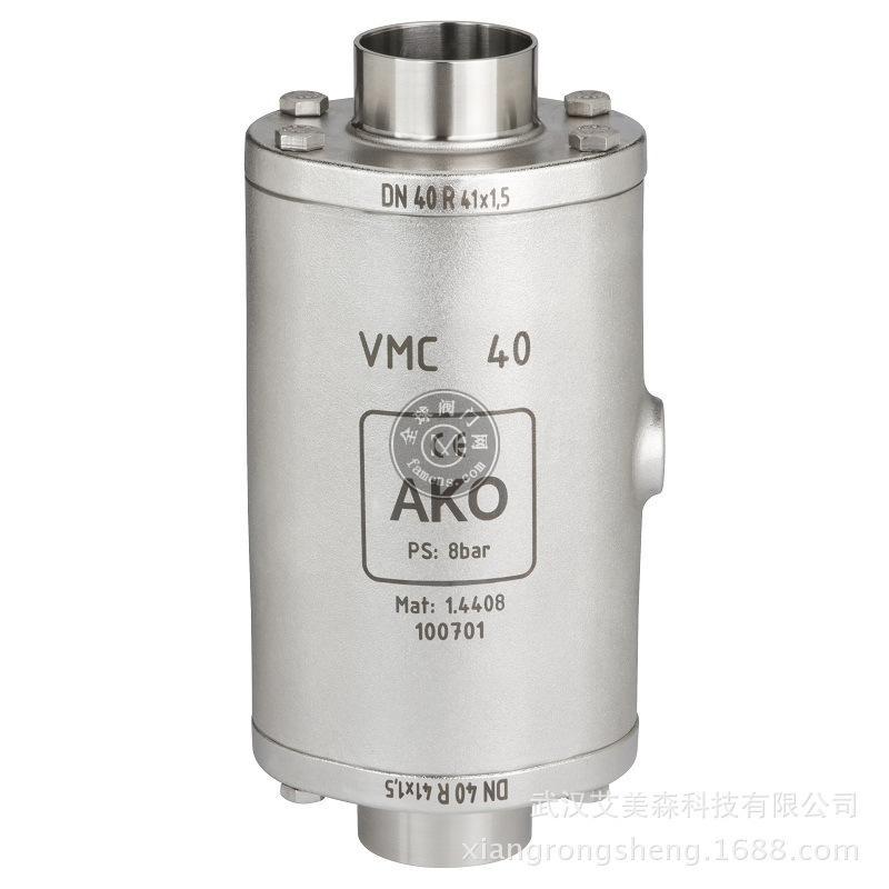 德国AKO  VMC气动夹管阀/气动管夹阀-端焊接