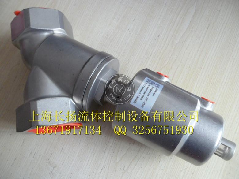 ESG100 DN15 PN16 CF8 不锈钢角座阀