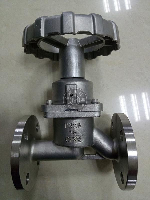 不锈钢隔膜截止阀、隔膜阀式截止阀、隔膜截止阀