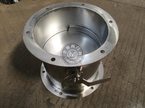 亚太3C公司长期加工不锈钢通风蝶阀/不锈钢管道式蝶阀/
