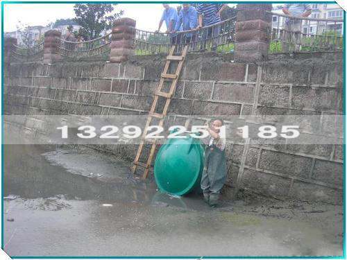 排水用DN1500复合材料拍门价格