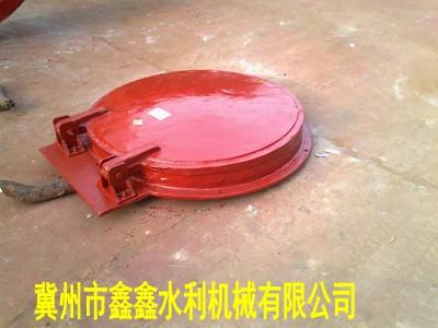 1.0米鑄鐵拍門價格 DN1000法蘭拍門