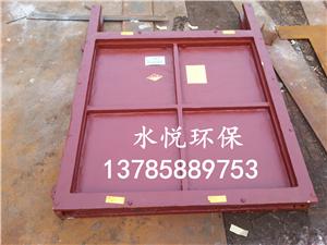 PZ1.2m*1.2m双向止水铸铁镶铜闸门
