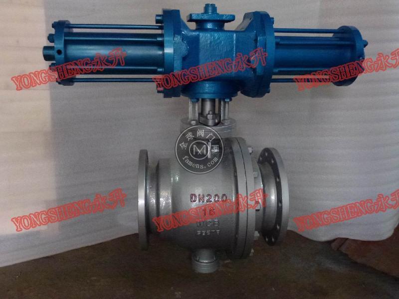 Q741F液动球阀
