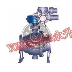 Q947MF电动铸钢卸灰球阀,电动卸灰球阀,卸灰球阀