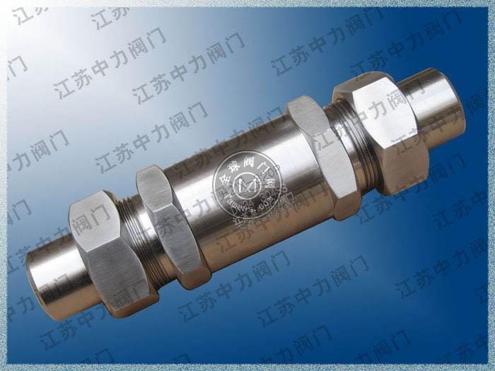 天然氣專用高溫高壓單向閥