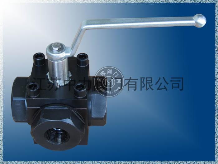 气体焊接式高压四通阀