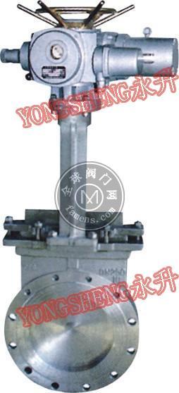 PZ973电动刀型闸阀、刀闸阀