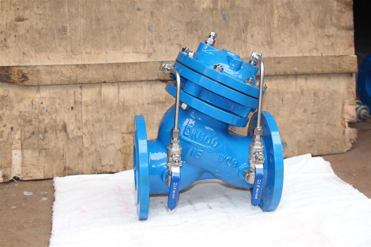 JD745X隔膜式多功能水泵控制閥