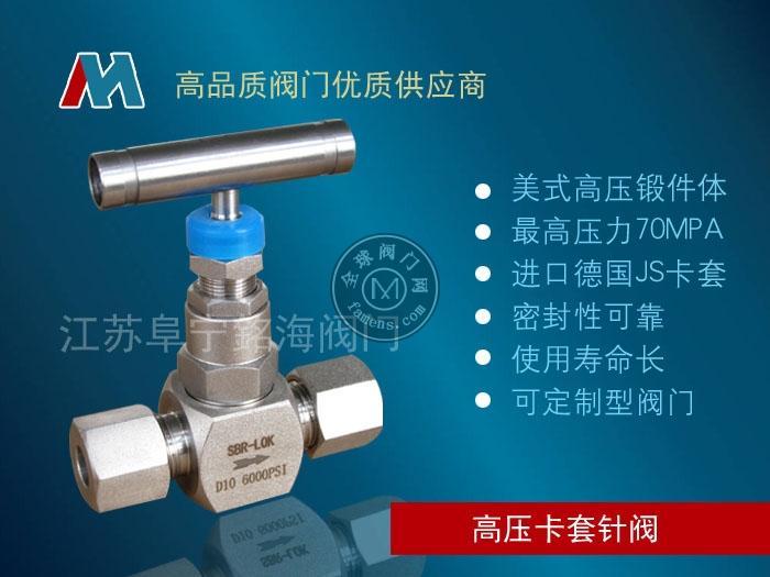 J91Y不锈钢高压气体针型阀