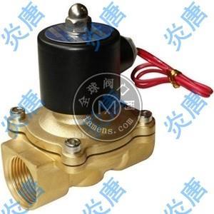 炎唐 2W-160-15常闭式全铜电磁阀 水用电磁阀