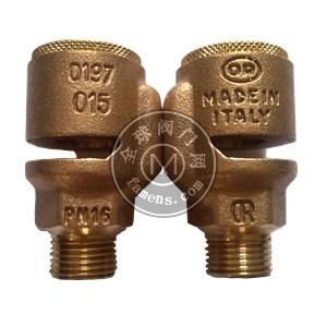 意大利進口黃銅破真空閥 真空抑制器 小口徑4分螺紋