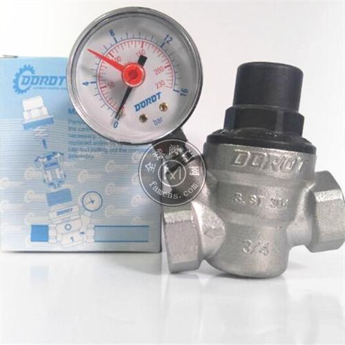 DOROT平衡式减压阀D06E D06R不锈钢可调式减压阀