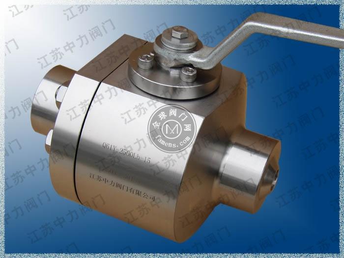 Q61Y进口焊接式高温高压球阀型号