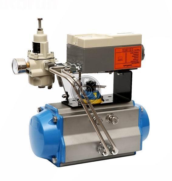 进口气动执行器带定位器、美国进口AT气动执行器