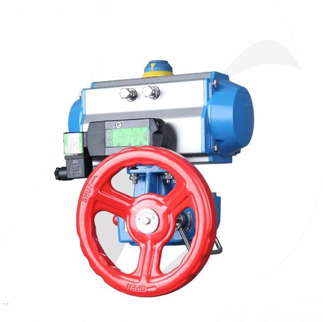 进口气动执行器带手轮机构、美国进口气动执行器
