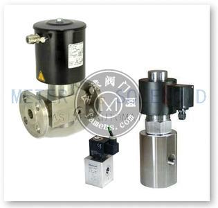 进口超高压电磁阀(最高可达320MPA)