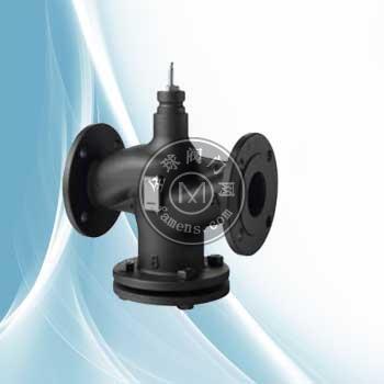 西门子电动蒸汽阀VVF53.50-40温控阀