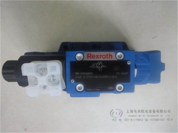 力士乐REXROTH电液换向阀4WEH16J7X/6EG24N9ETK4/B08
