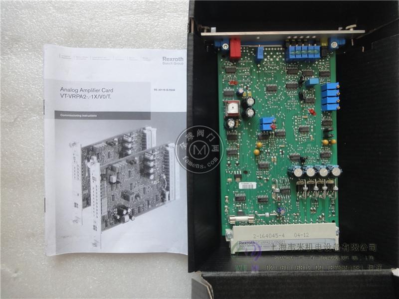 力士乐REXROTH放大板VT-VRRA1-527-20/V0/2STV