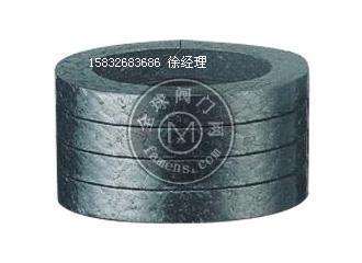 阀门专用柔性石墨垫圈 加丝网石墨填料环 耐高温石墨盘根密封
