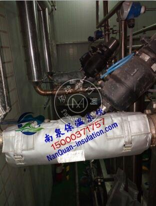 截止阀可拆式保温被上海南泉现货供应阀门保温套