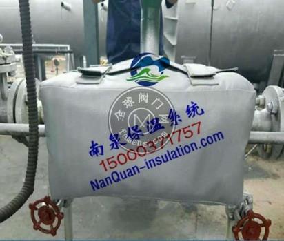 闸阀可拆卸式保温盒上海南泉柔性保温套