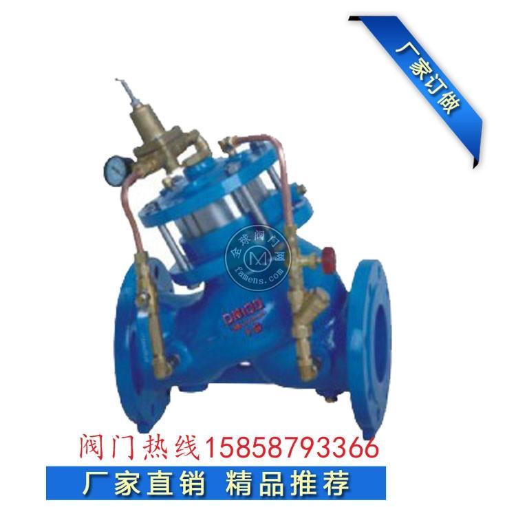 美標英標YX741X活塞式可調減壓穩壓閥