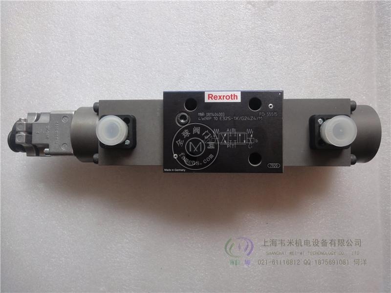 力士乐比例溢流阀DBETX-1X/315G24-8NZ4M