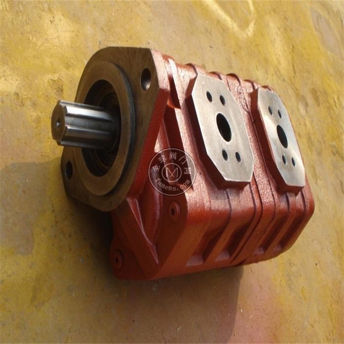 濟南液壓泵JHP2080/2063徐工起重機液壓齒輪泵