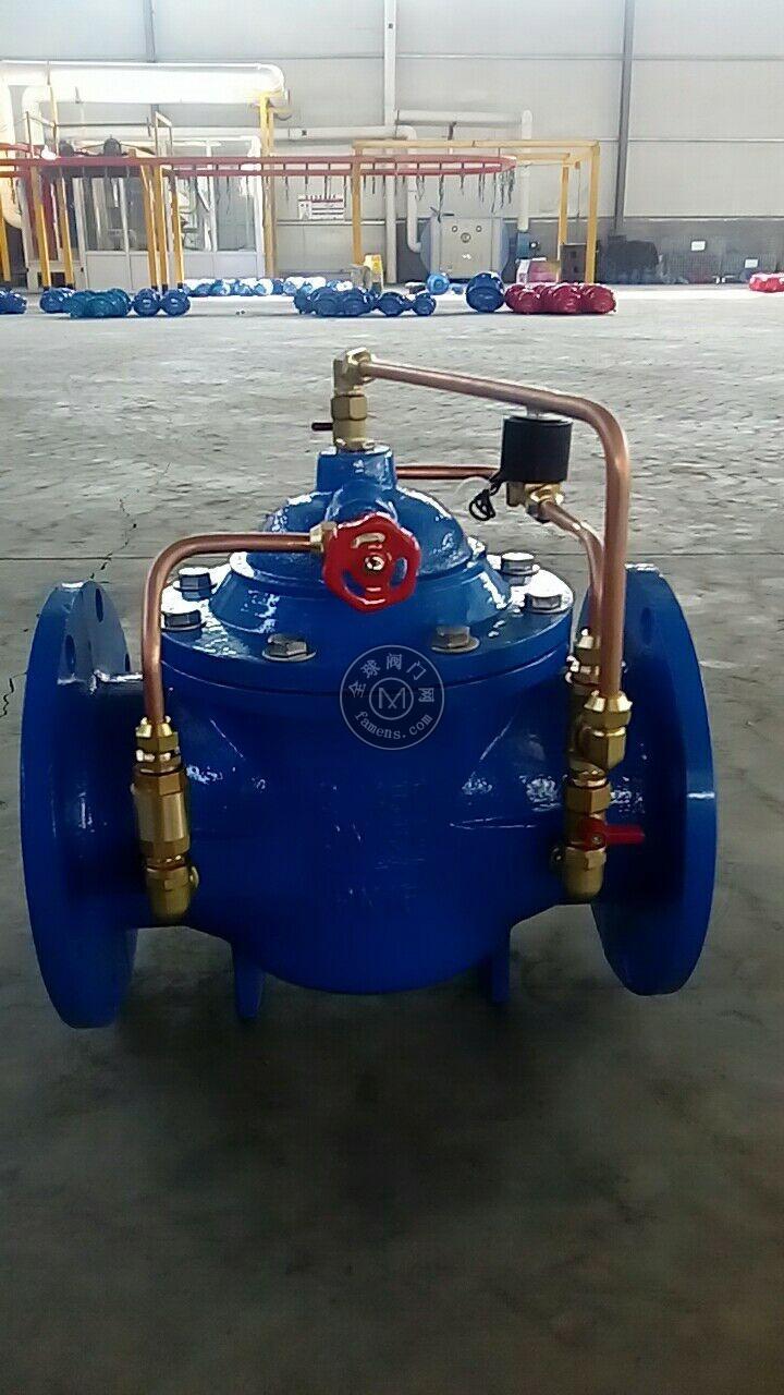河北水泵控制阀厂家?河北欧特莱700X水泵控制阀 球墨铸体材质